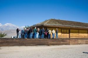 Society Members at Lone Pine Depot